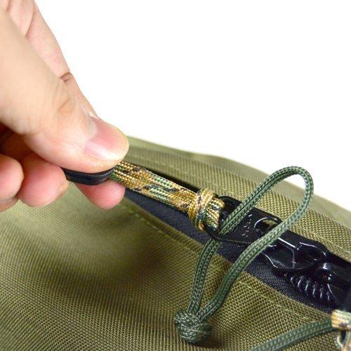 Bush Craft(ブッシュクラフト) ファイヤーコードジッパープル(Fire Cord Zipper Pulls)シンレッド_画像5