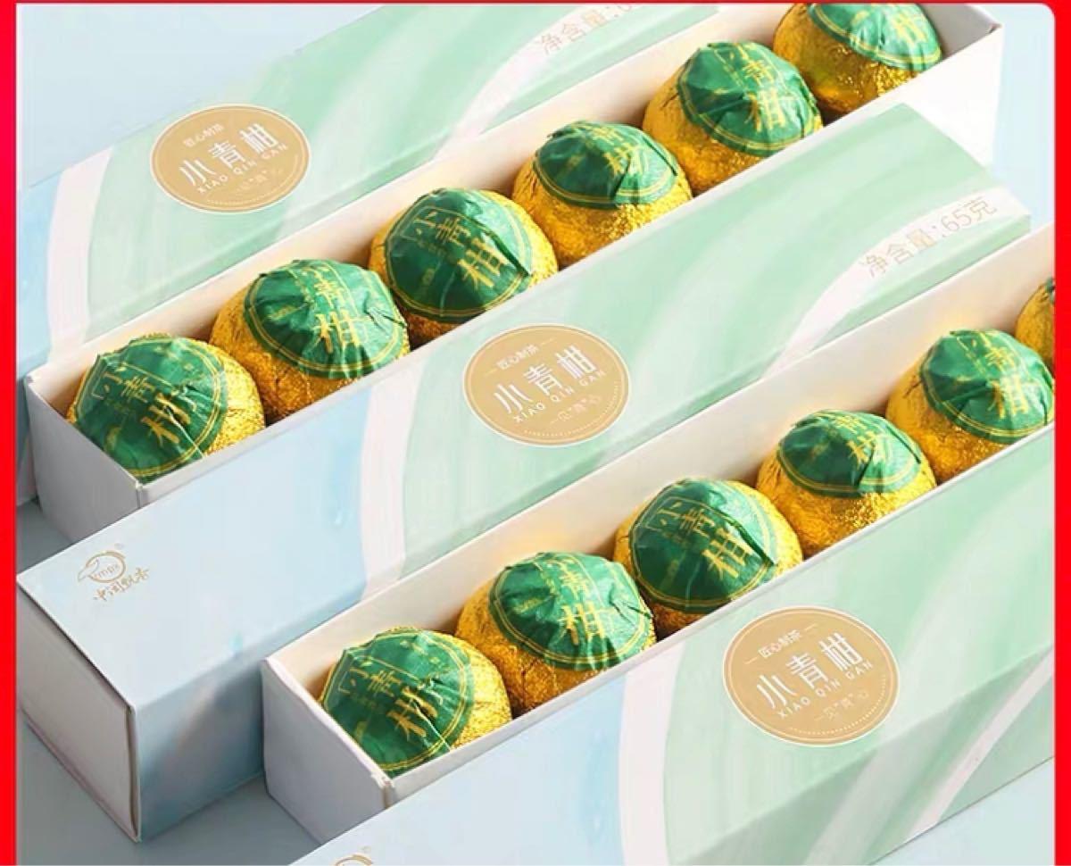 グリーンオレンジプーアル茶 フルーツティー 6P