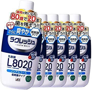 6個 【まとめ買い】ラクレッシュL8020菌マウスウォッシュ【×6個】_画像1