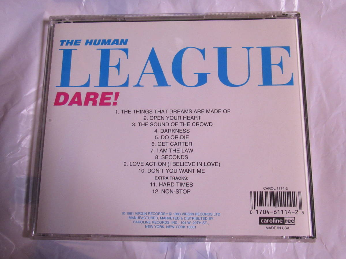 The Human League ヒューマンリーグ_画像2