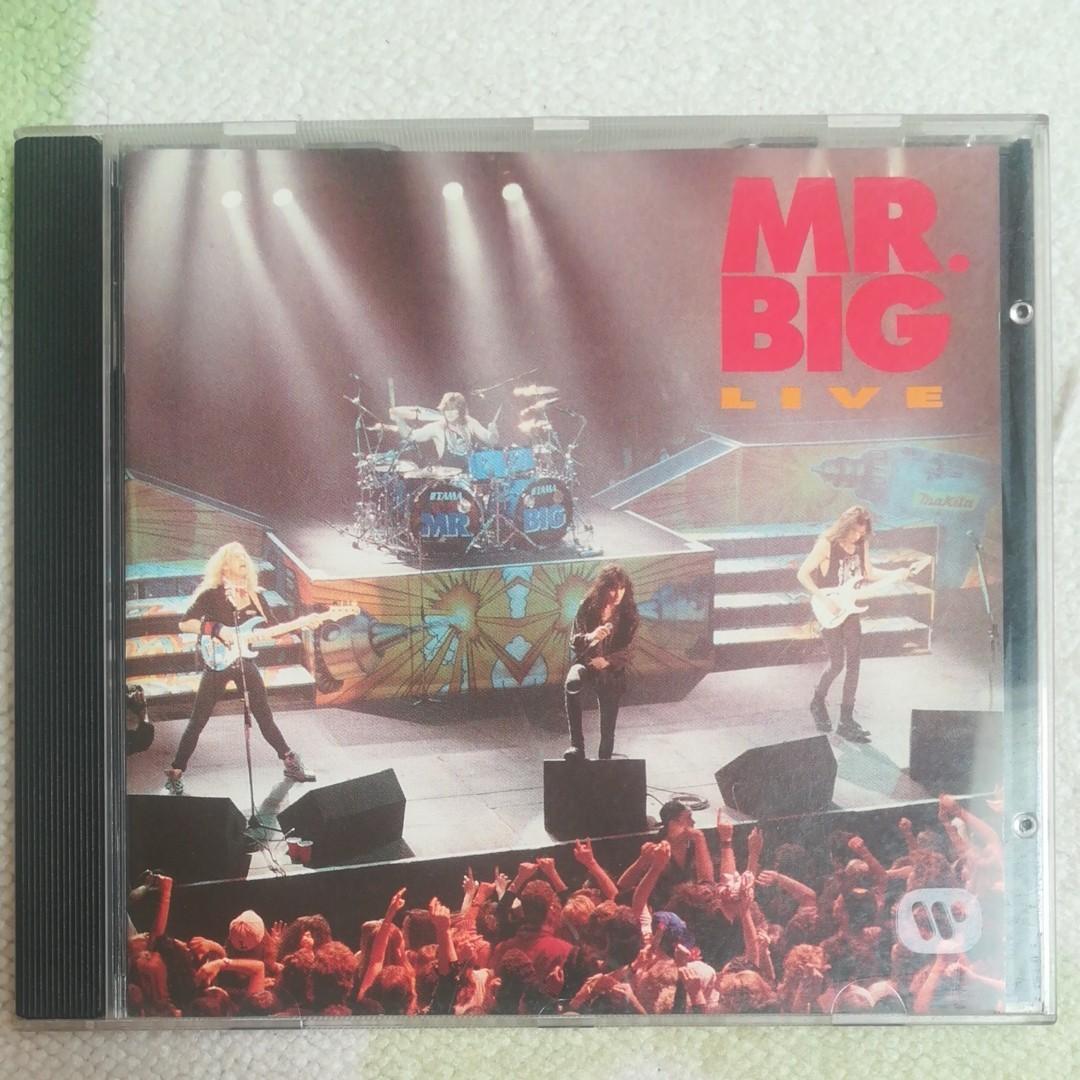 【輸入盤】 MR.BIGLIVE/MR.BIG
