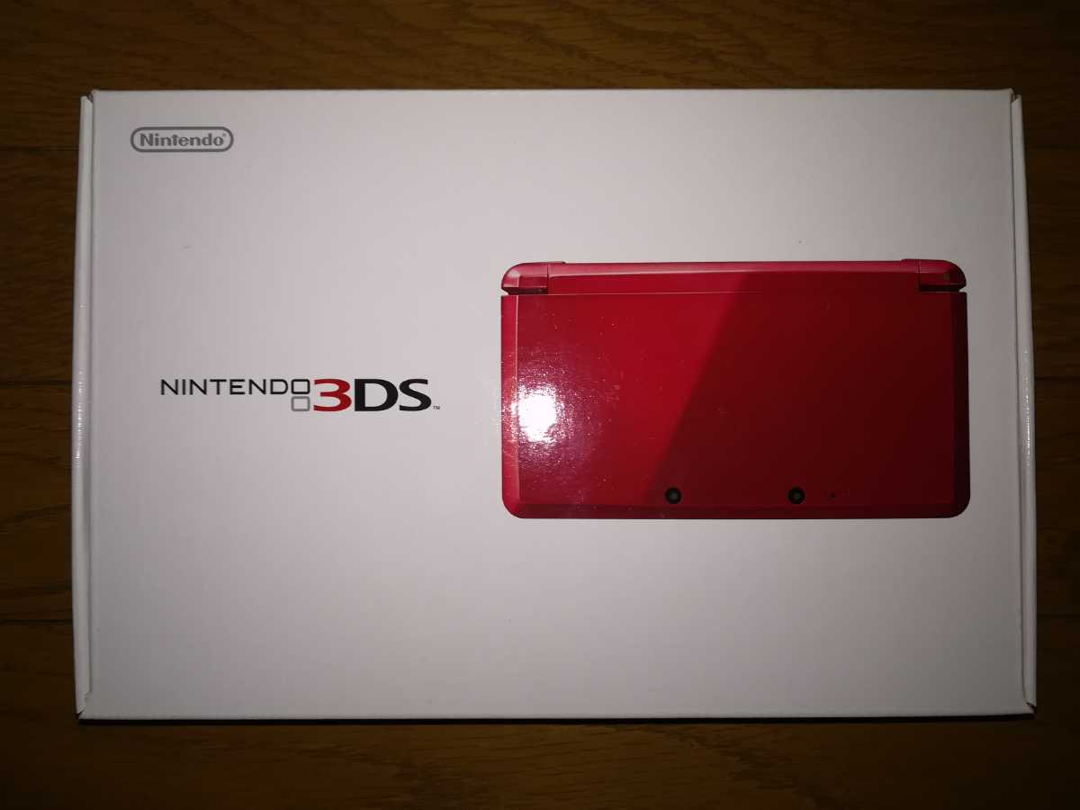 ニンテンドー3DS 本体 メタリックレッド 新品・未使用