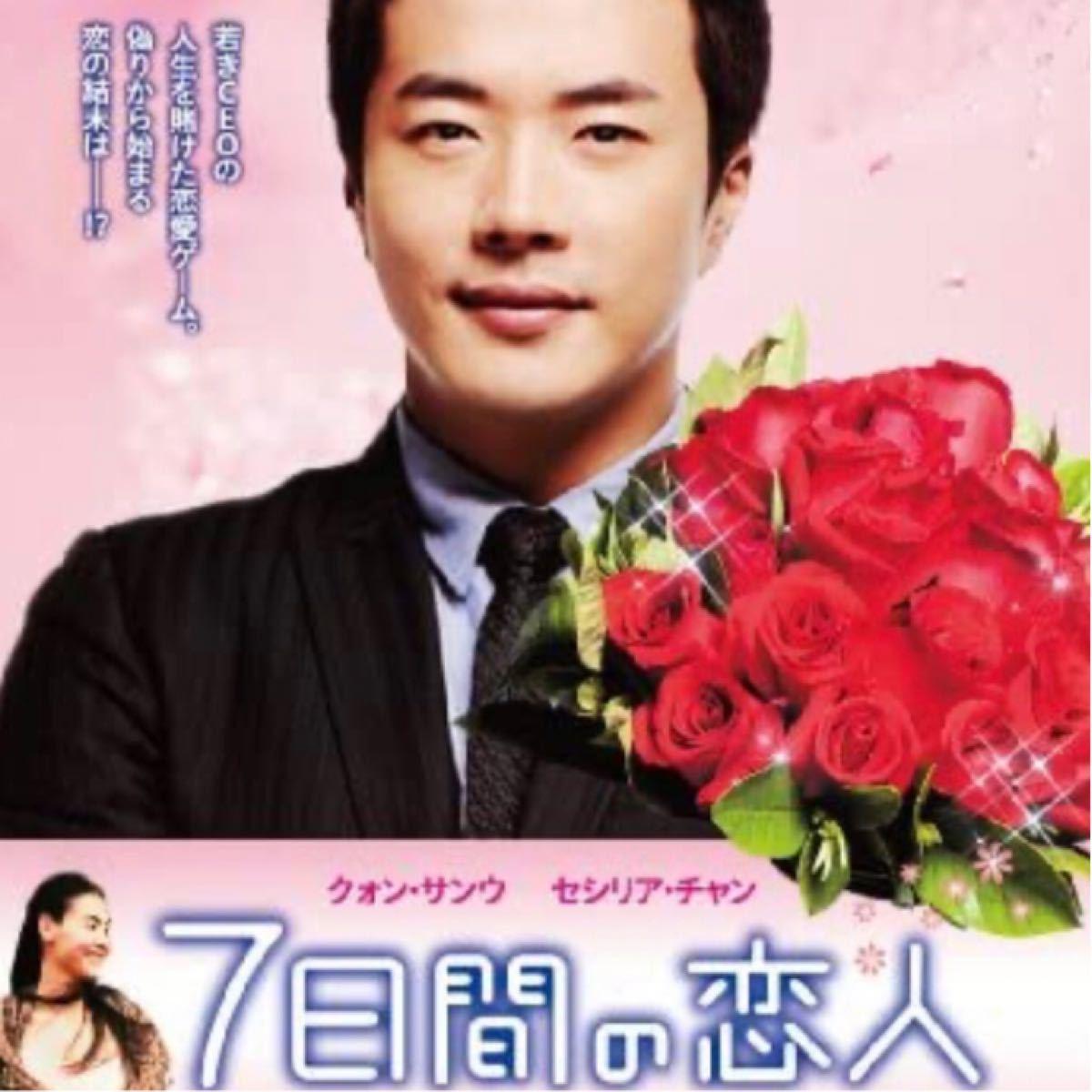 中国映画  7日間の恋人  クォン・サンウ  セシリア・チャン  DVD  日本語吹替有り  レーベル有り