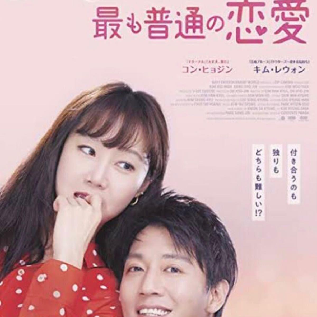 韓国映画  最も普通の恋愛  キム・レウォン  コン・ヒョジン  DVD  レーベル有り