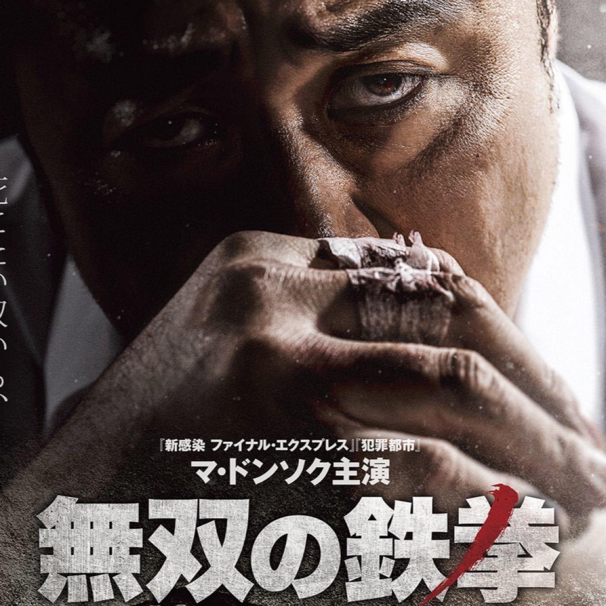 韓国映画  無双の鉄拳  マ・ドンソク  DVD  日本語吹替有り  レーベル有り