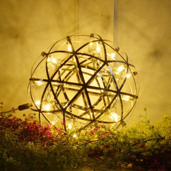 天体照明 オブジェにもなる天井照明 LED リビング 吹抜け カフェ 店舗 ホテル ペンダントライト 吊り下げ 40cm 白い電球6000K P038-Venus_画像4