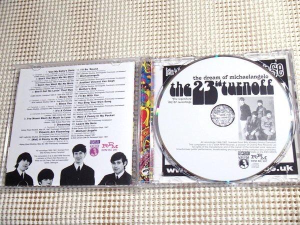 廃盤 The 23rd Turnoff The Dream Of Michaelangelo/ RPM / Jimmy Campbell ( Rockin Horse )在籍 beatles 直系 60s UK サイケ pop Kirkbys