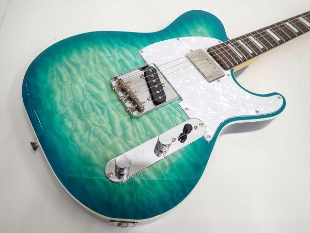 CoolZ エレキギター ZTL-3R/Q テレキャスタータイプ クールジー 島村楽器オリジナルブランド ∀ 6012F-3