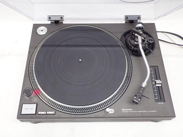 Technics テクニクス ターンテーブル SL-1200MK3 レコードプレーヤー + シェル付きカートリッジ DENON DL-103 付き ¶ 60136-2