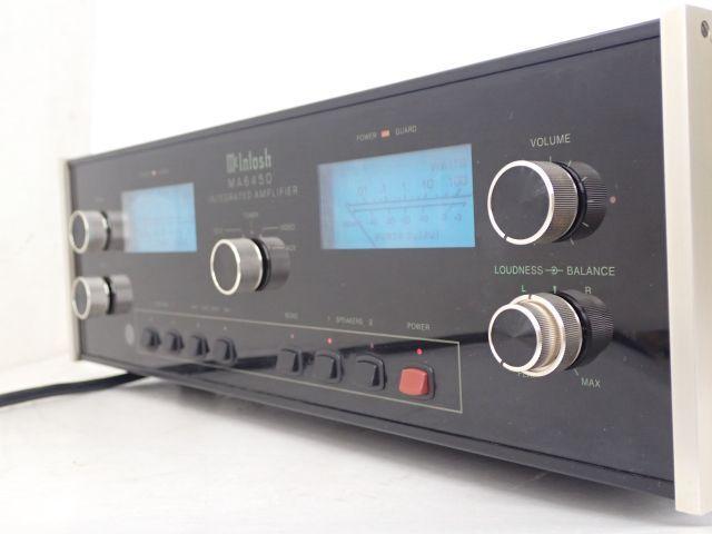 McIntosh プリメインアンプ MA6450 ジャンク品 エレクトリ正規輸入品 マッキントッシュ ▽ 602DF-2