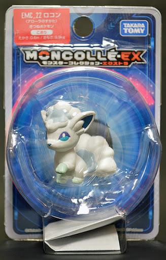 ポケットモンスター モンスターコレクション モンコレ EX EMC_22 ロコン (アローラのすがた)_画像1