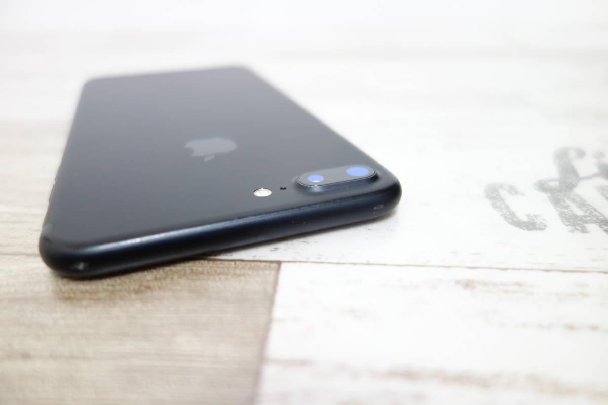 docomo SIMロック解除済み iPhone 7 Plus 128GB NN6F2J/A ブラック シムフリー_画像3