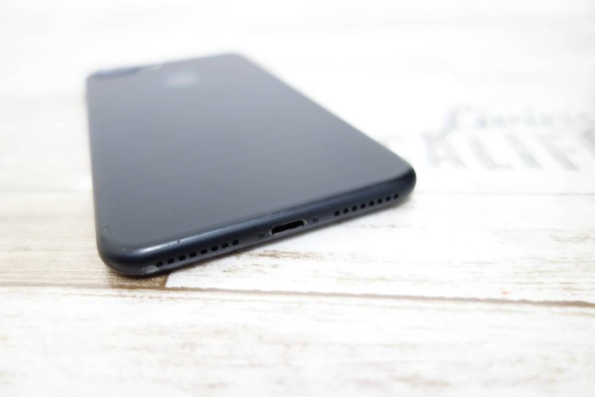 docomo SIMロック解除済み iPhone 7 Plus 128GB NN6F2J/A ブラック シムフリー_画像4