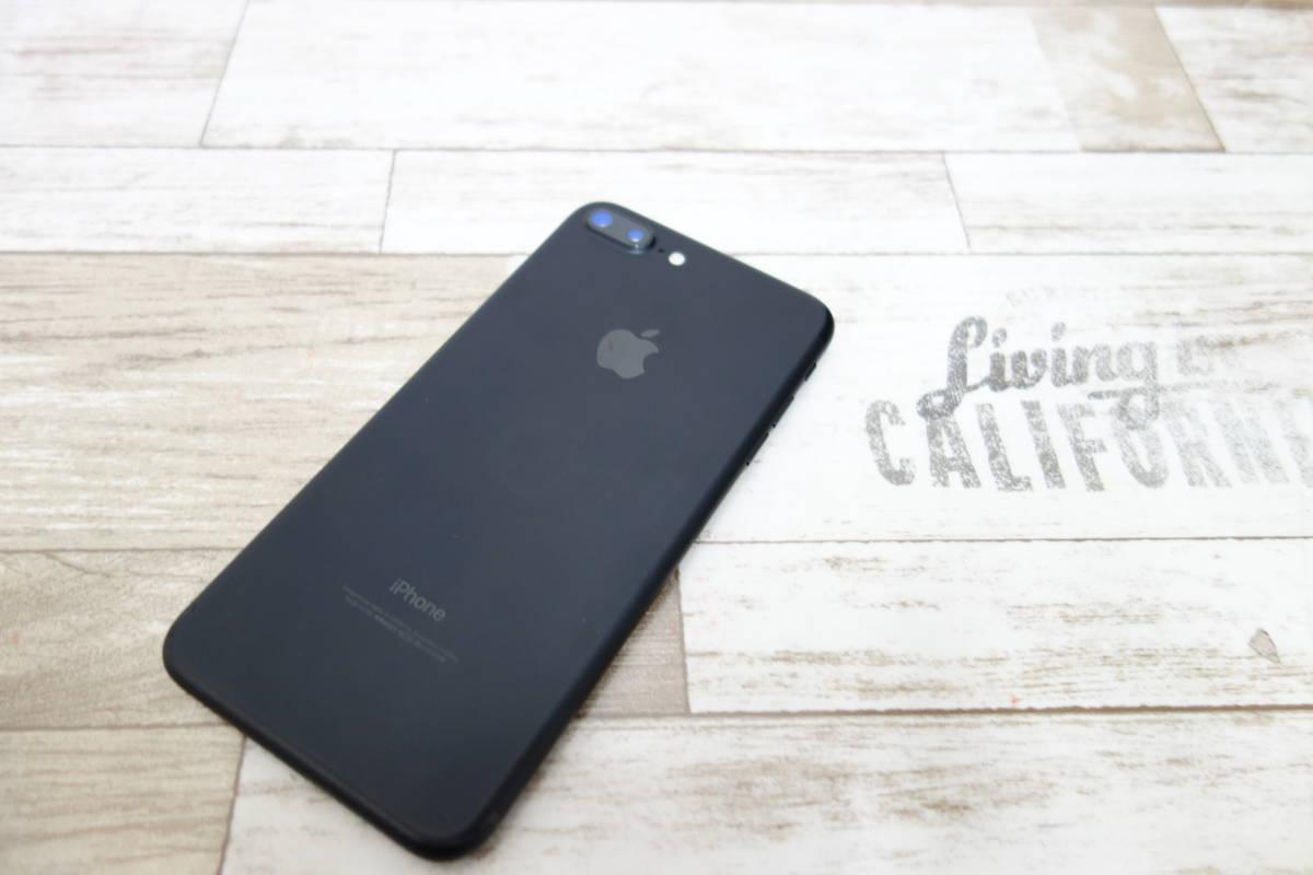 docomo SIMロック解除済み iPhone 7 Plus 128GB NN6F2J/A ブラック シムフリー_画像2