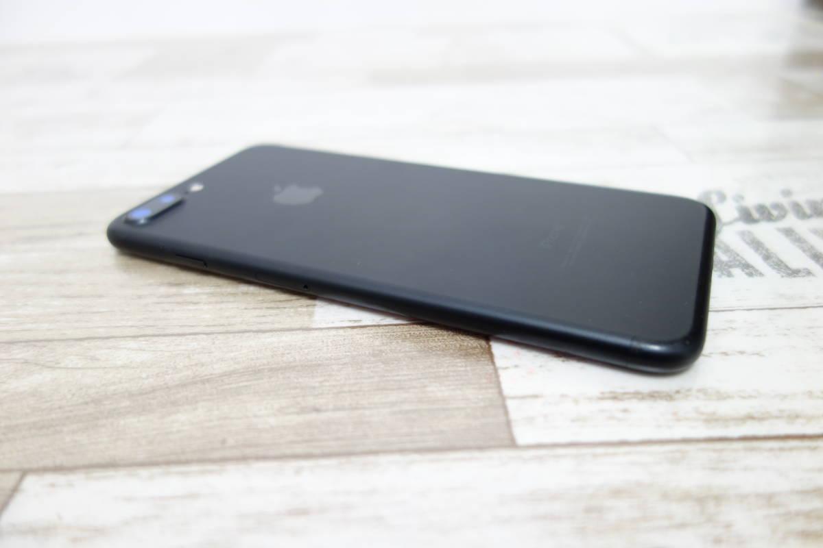 docomo SIMロック解除済み iPhone 7 Plus 128GB NN6F2J/A ブラック シムフリー_画像6