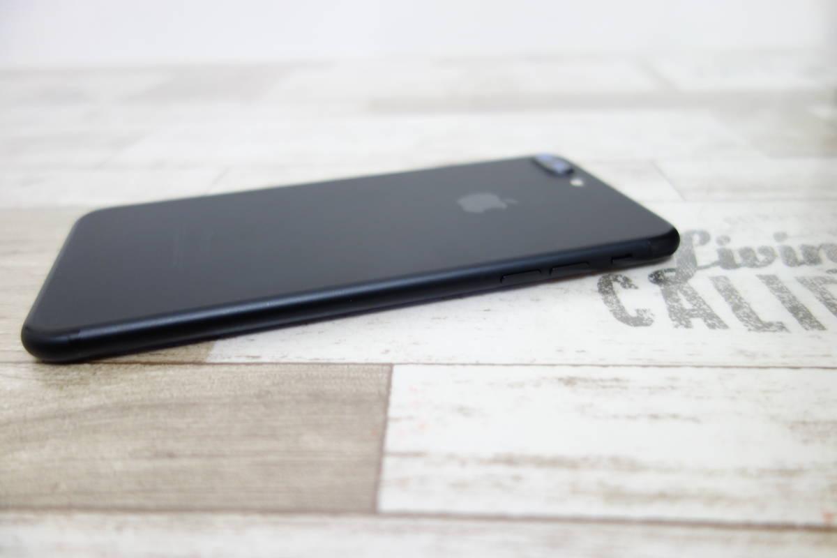 docomo SIMロック解除済み iPhone 7 Plus 128GB NN6F2J/A ブラック シムフリー_画像5