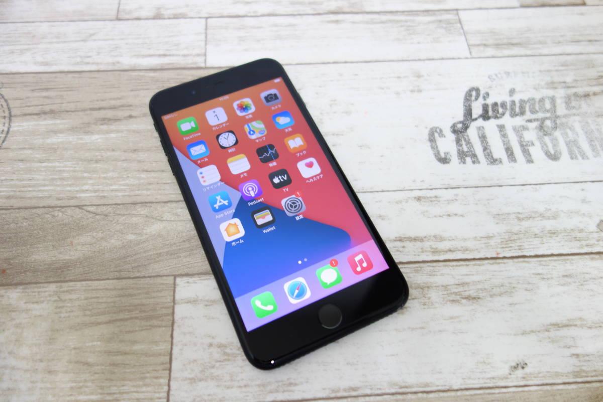 docomo SIMロック解除済み iPhone 7 Plus 128GB NN6F2J/A ブラック シムフリー_画像1