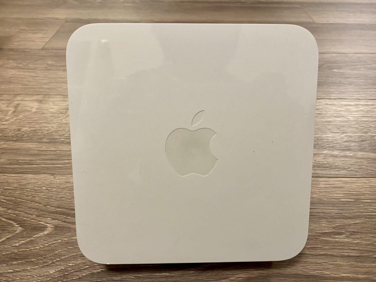 AirMac Extreme 初期化済み 完動品 Wi-Fiルーター Apple ベースステーション A1408 FD031J/A _画像2