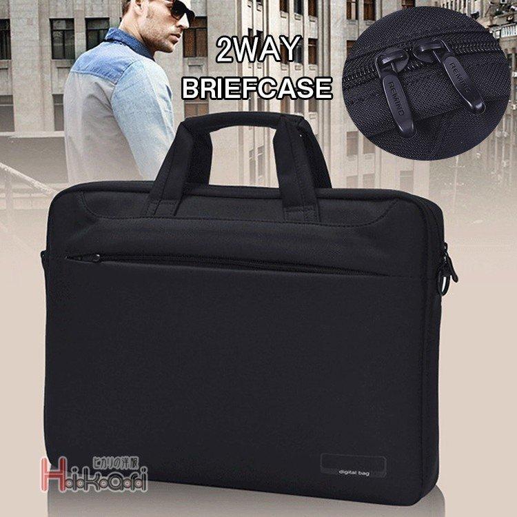 ブリーフケース メンズ ビジネスバッグ ショルダーバック 出張 ビジネスバッグ メンズ ブリーフケース 通勤 鞄 2WAYバック ブラック シ