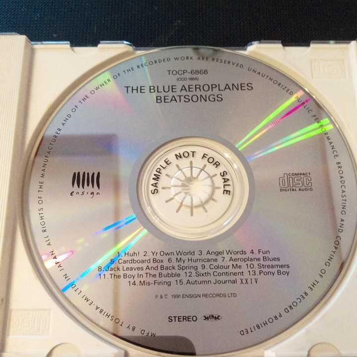 the blue aeroplanes beatsongs中古CD 見本盤 国内盤