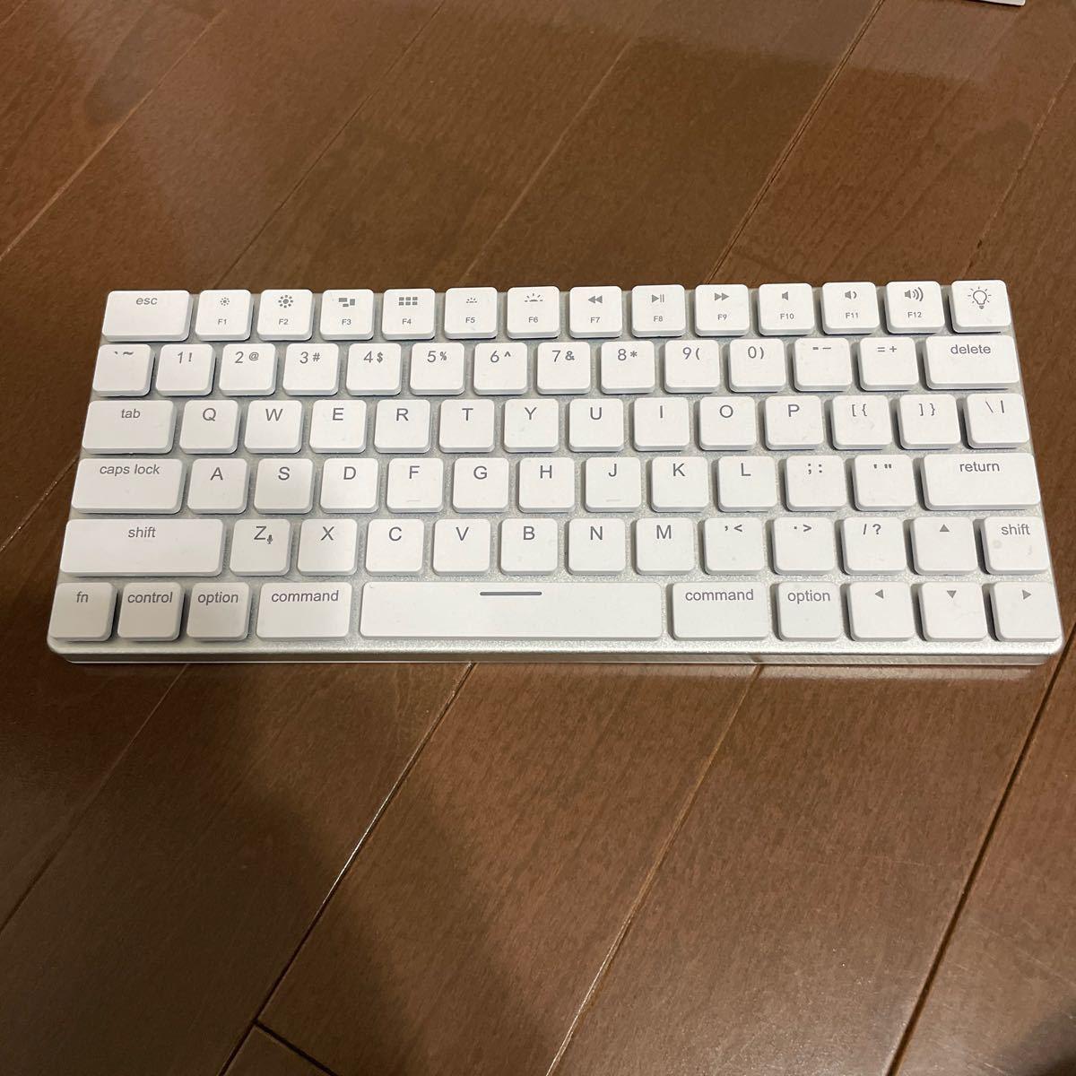 Vinpok Taptek ワイヤレスキーボード Mac配列 白
