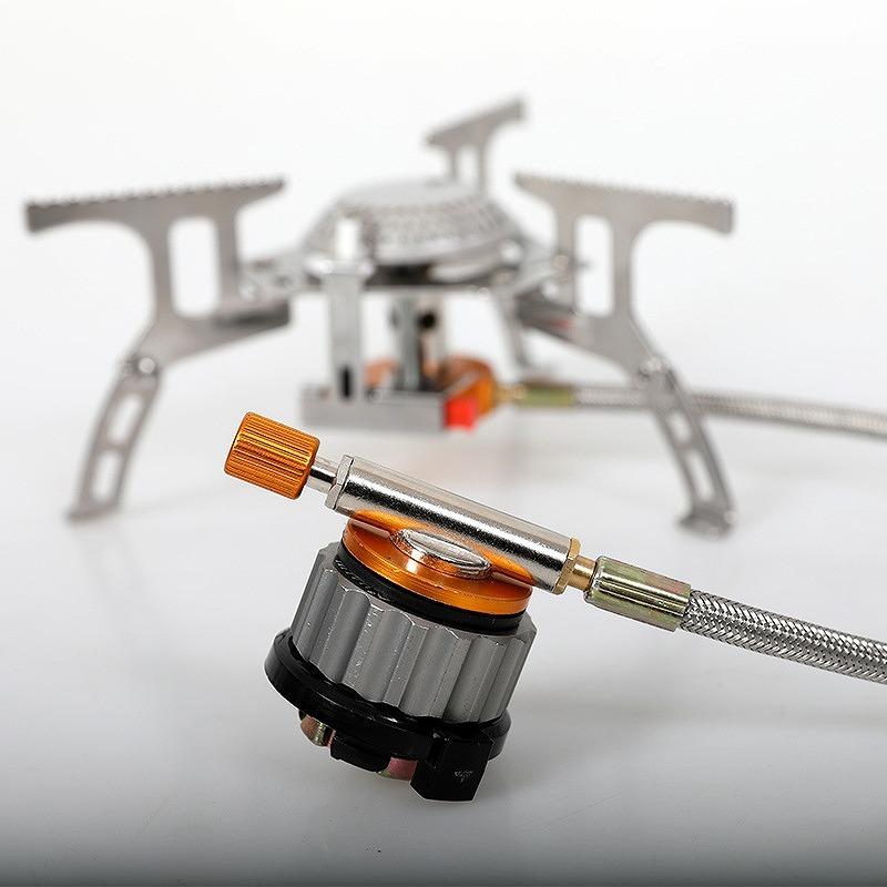 【高品質】カセットガス 変換 アダプター2個セット OD缶 CB缶 変換