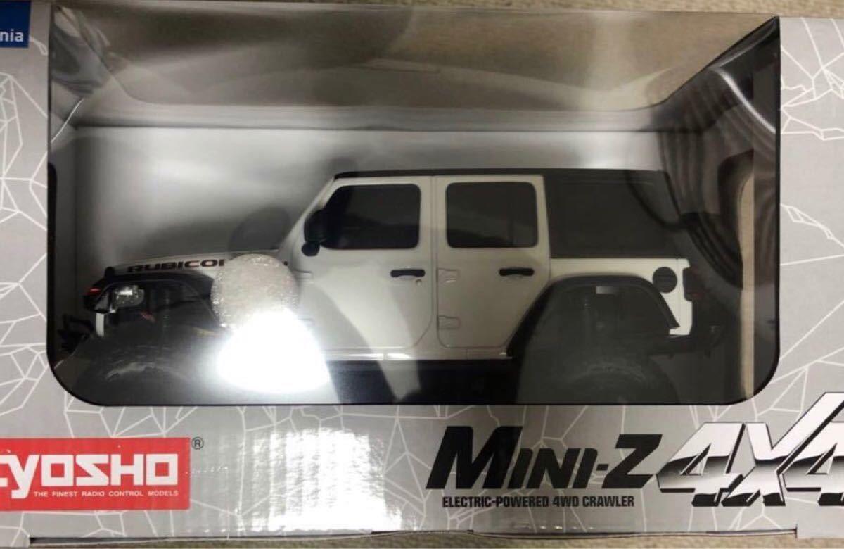 【新品未開封】京商ミニッツ 4×4 ジープ ラングラー アンリミテッドルビコン ブライトホワイト