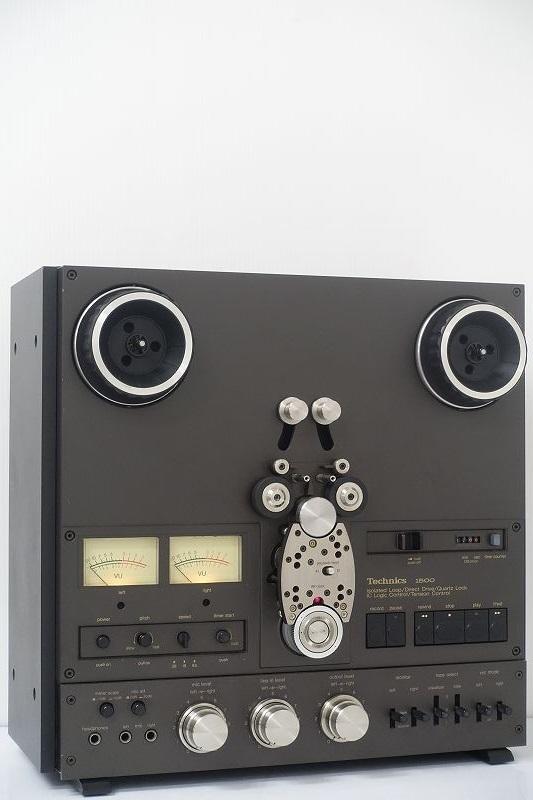 ■□Technics RS-1500U オープンリールデッキ 10号/7号リールテープ付 テクニクス□■007995002J-2□■
