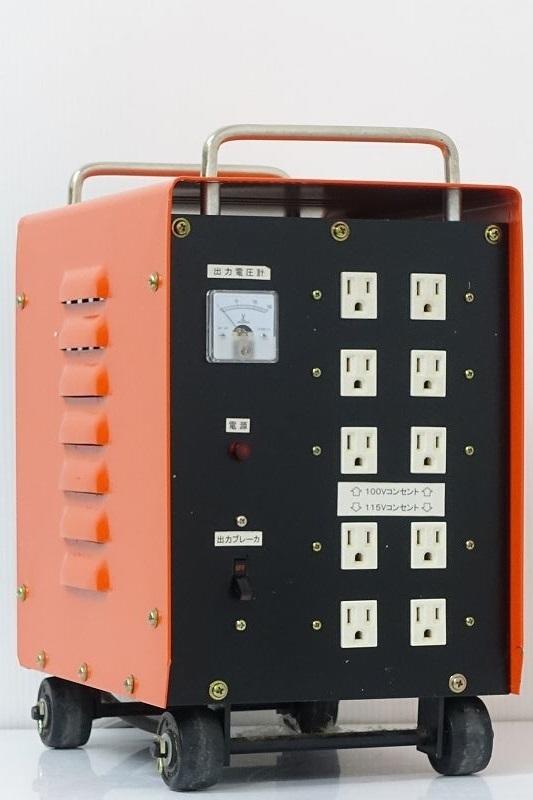 ■□SUZUKID スター電器 TranStar-F STH-312A 3kVA 変圧器 トランスターF スズキッド□■007744009J□■