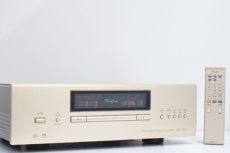■□Accuphase DP-550 SACDプレーヤー アキュフェーズ 元箱付□■007459005m□■