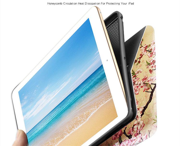 ipad mini5 ケース iPad mini第5世代 7.9インチ ケース アイパッドミニ5 手帳型 耐衝撃 段階調整 オートスリープ機能付き tpuソフトカバー_画像8