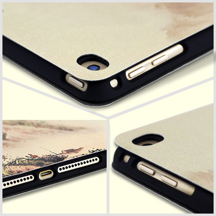 ipad mini5 ケース iPad mini第5世代 7.9インチ ケース アイパッドミニ5 手帳型 耐衝撃 段階調整 オートスリープ機能付き tpuソフトカバー_画像9