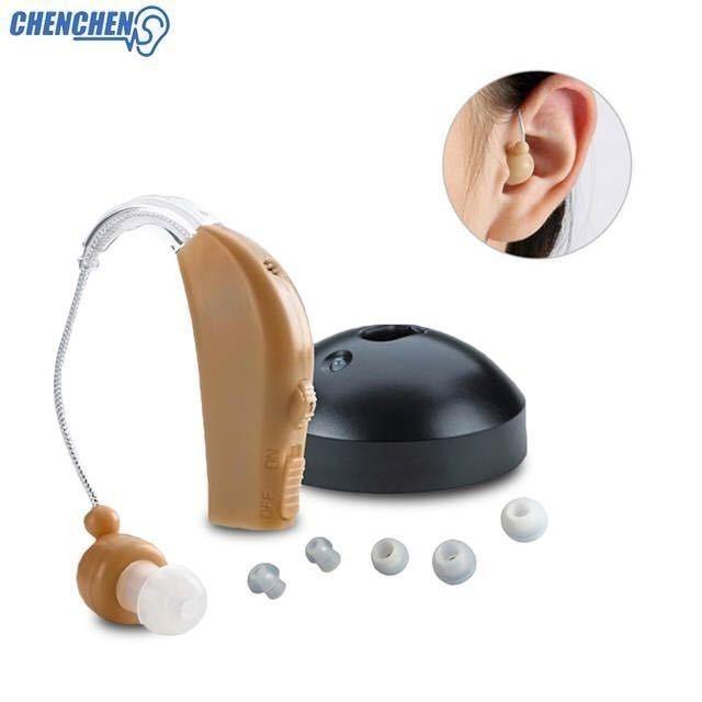 【】耳かけ 充電式 肌色 イヤホンキャップ 大小 多種 軽量 デジタル 小型 集音器 左右 両用 740_画像6