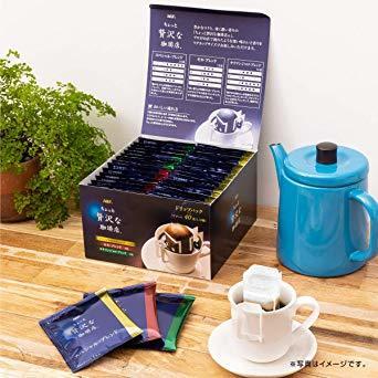 【新品未使用】AGFドリップコーヒーちょっと贅沢な珈琲店レギュラーコーヒー】【】ドリップパックつめあわせ【アソート40袋_画像2
