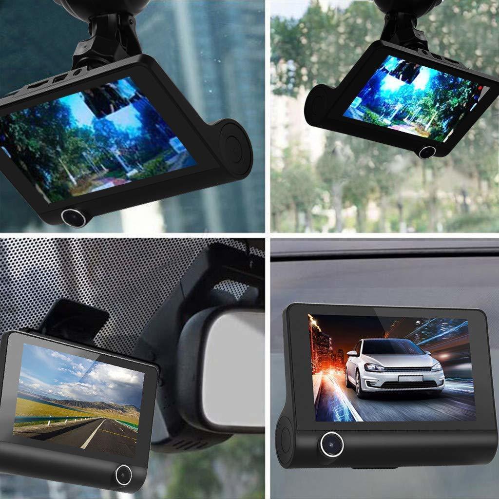 ドライブレコーダー 前後カメラ 最新版 車載カメラ 4.0インチ 1080P 170°広視野角 WDR搭載 駐車監視 常時録画_画像9