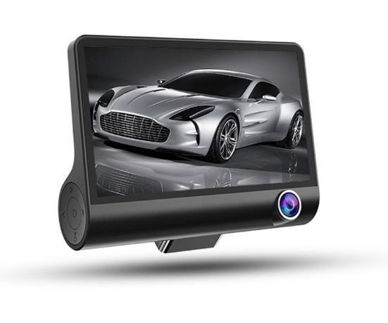 ドライブレコーダー 前後カメラ 最新版 車載カメラ 4.0インチ 1080P 170°広視野角 WDR搭載 駐車監視 常時録画_画像1