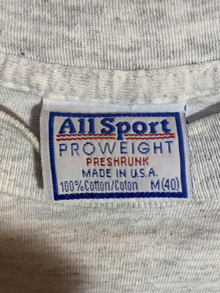期間限定SALE!! 1990s UCLA カレッジ ビンテージTシャツ M 杢グレー_画像4