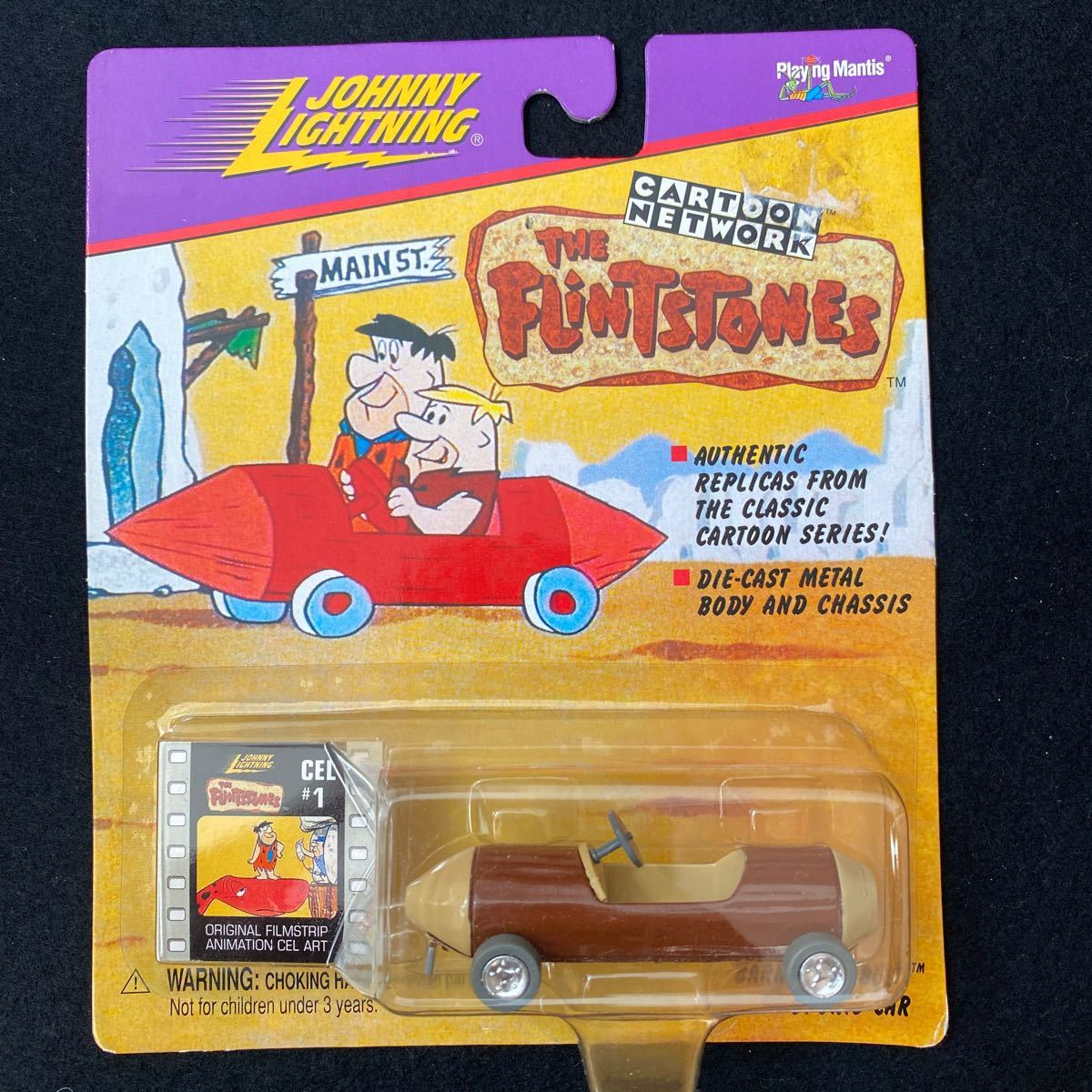 ジョニー ライトニング Johnny Lightning Cartoon Network Flintstones フリントストーンズ ミニカー アニメ カートゥーン アメリカ 漫画_画像1