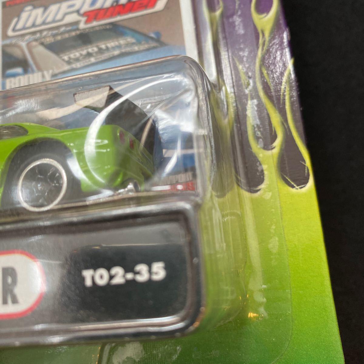 2002 Muscle Machines インポート チューナー 日産 スカイライン GT-R ミニカー チューニングカー Nissan Skyline Import Tuner 1/64_画像7