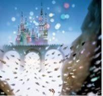 【DX 藤城清治 影絵 2021年 壁掛け カレンダー フィルム付き 】 遠い日の風景から_画像2