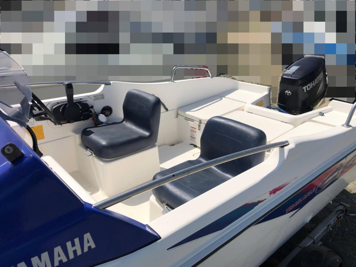 ヤマハ SRV17 トレーラー付_画像8