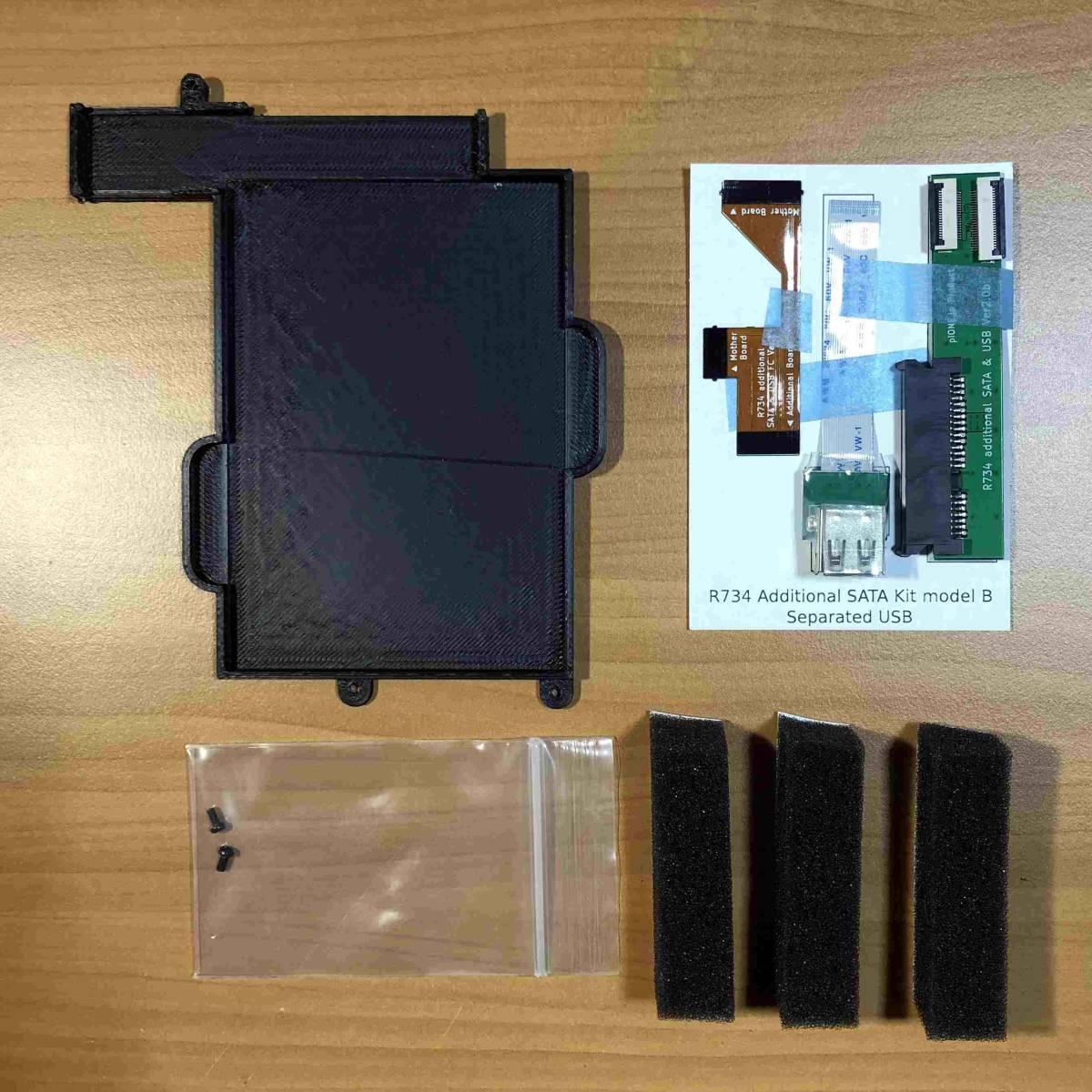 dynabook R734 光学ドライブ非搭載モデル用HDD・無線USBポート増設キット_画像4