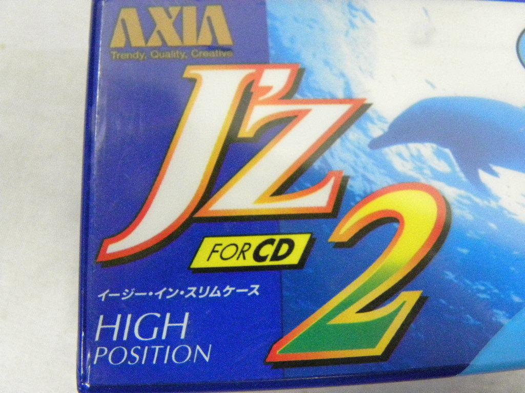★AXIA アクシア J'z2 FOR CD 70 未開封品2本パック★ハイポジション カセットテープ 2本★ハイポジ★イージーインスリムケース★_画像2