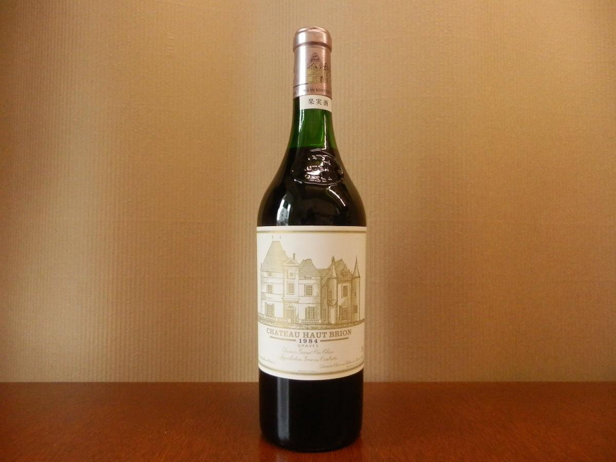 ワイン(04) / Pessac Chateau Haut Brion 1984 シャトー・オー・ブリオン (750ml 14%) 古酒 現状品