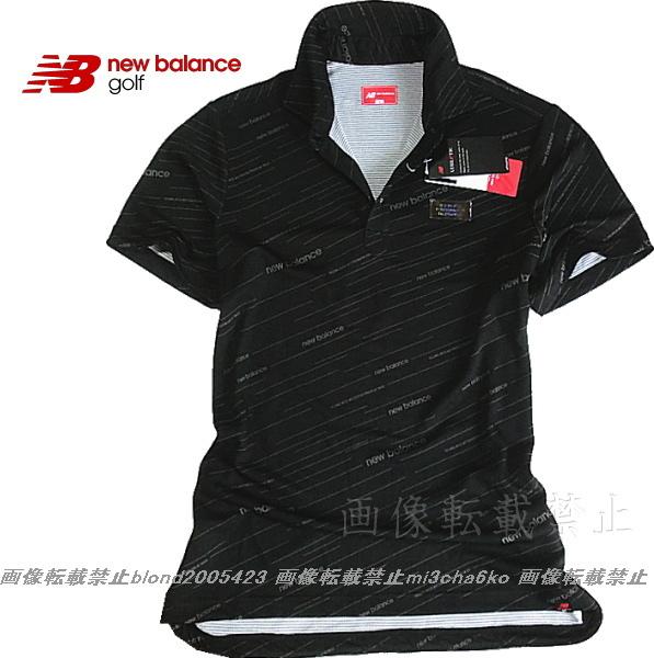 ■新品【new balance golf】ニューバランスゴルフCOOL-VISIONS高機能ポロシャツ■BK/6(XL)_画像2