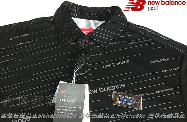 ■新品【new balance golf】ニューバランスゴルフCOOL-VISIONS高機能ポロシャツ■BK/6(XL)_画像3