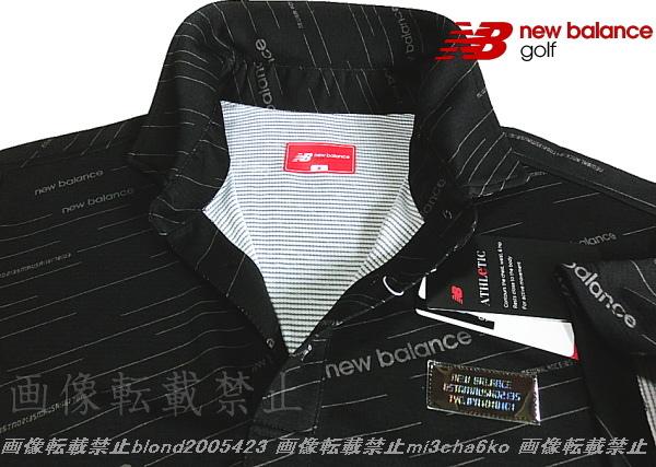 ■新品【new balance golf】ニューバランスゴルフCOOL-VISIONS高機能ポロシャツ■BK/6(XL)_画像1