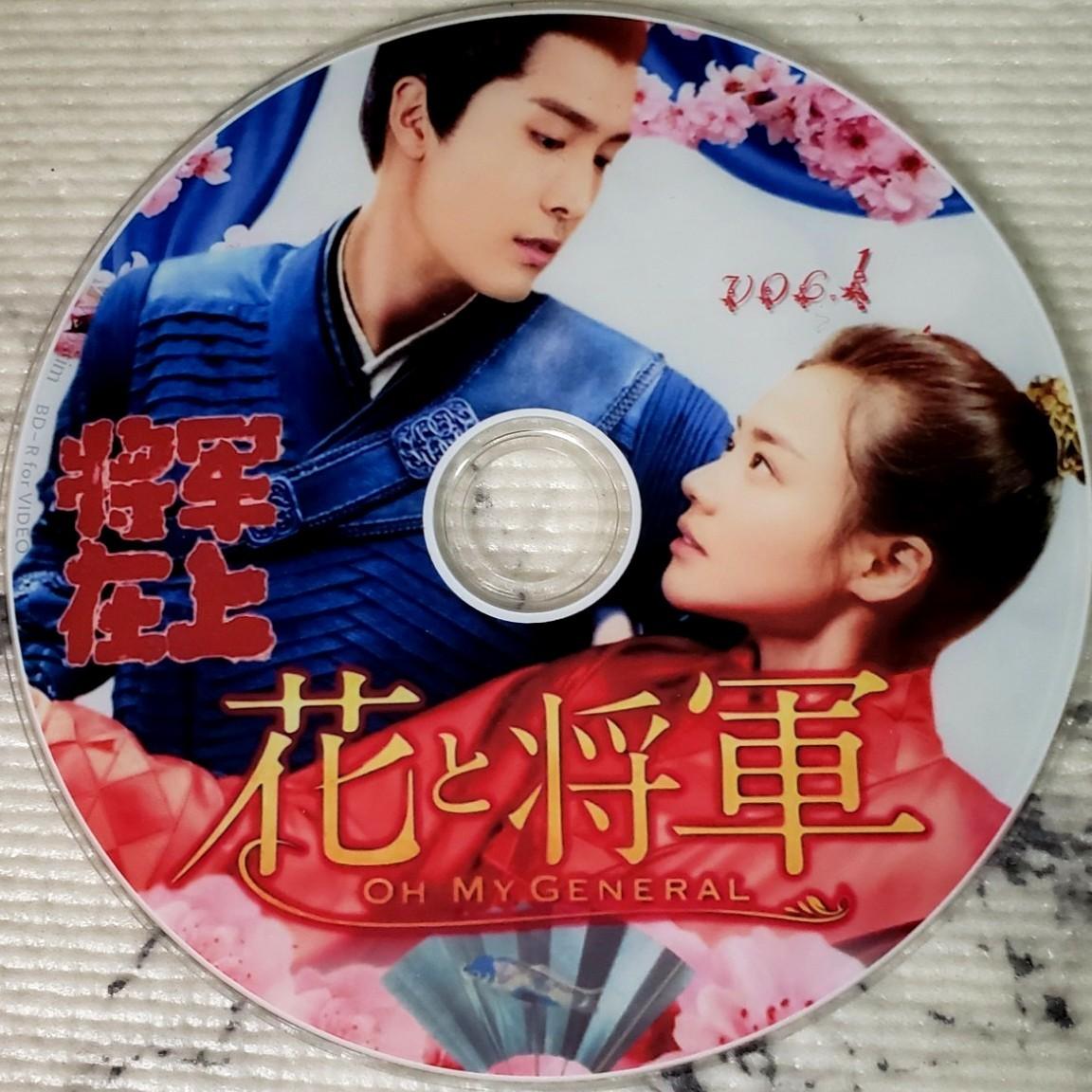 中国ドラマ 花と将軍 全話  Blu-ray