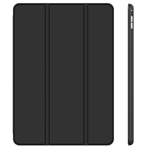 ブラック JEDirect iPad Pro 12.9 (2015/2017型) ケース レザー 三つ折スタンド オートスリープ_画像1