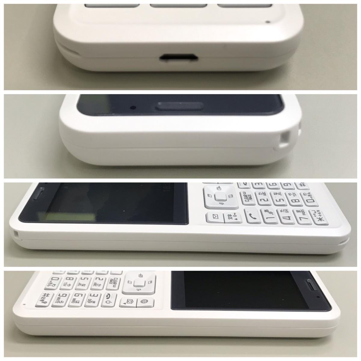 【送料無料/中古良品】SoftBank Simply B 701SI ホワイト ROM:8GB RAM:1GB セイコー SEIKO SIMロック解除済 〇判定_画像5